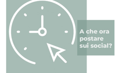 L'orario migliore per postare sui social